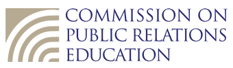 Commission on Public Relations Education (logo)